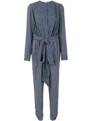 Stella McCartney Michiella Tie Print Jumpsuit