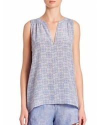 Joie Bilbao Diamond Print Top