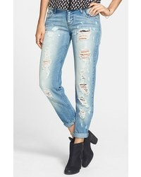 STS Blue Destroyed Boyfriend Jeans