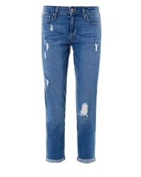 Paige Denim Jimmy Jimmy Mid Rise Crop Slim Boyfriend Jeans