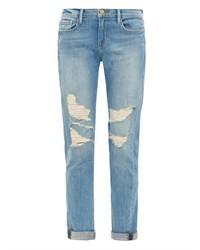 Frame Denim Le Garon Lucielle Mid Rise Boyfriend Jeans