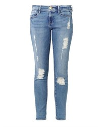 Frame Denim Le Garon Mid Rise Tailored Boyfriend Jeans