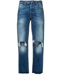 Levi's Vintage Clothing Ripped Boyfriend Jeans