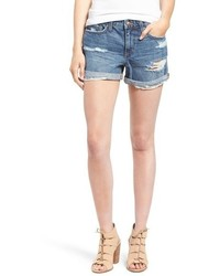 Joe's Jeans Joes Collectors Edition Ripped Cuffed Denim Shorts
