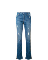 Ermanno Ermanno Embellished Stripe Jeans