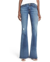 Hudson Jeans Mia Distressed Flare Jeans