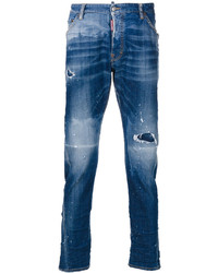 DSQUARED2 Distressed Kenny Twist Jeans