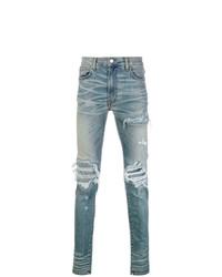 Amiri Distressed Skinny Jeans