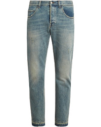 Distressed slim leg jeans medium 1194155