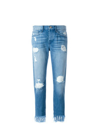 3x1 Frayed Cropped Jeans