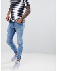 Jefferson Light Blue Ripped Jeans