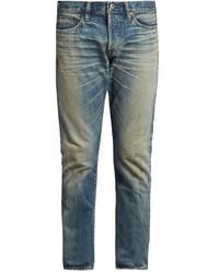 Simon Miller M001 Ishida Distressed Slim Leg Jeans