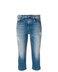 Emporio Armani Short Faded Jeans