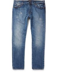Valentino Distressed Denim Jeans