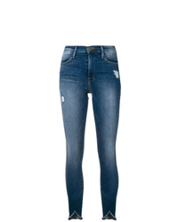 Frame Denim Cropped Skinny Jeans