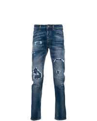 Frankie Morello Distressed Effect Jeans