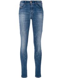 Distressed skinny jeans medium 4155716