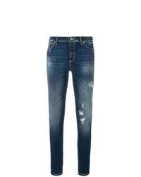 Distressed skinny jeans medium 8575836