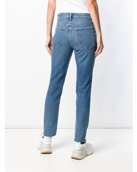 Rag & Bone Faded Slim Fit Jeans