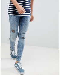BLEND Flurry Muscle Fit Jeans In Blue Black Black