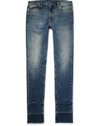 Maison Margiela Skinny Fit Distressed Stretch Denim Jeans