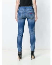 Dsquared2 Medium Waist Twiggy Jeans
