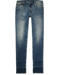 Maison Margiela Skinny Fit Distressed Stretch Denim Jeans