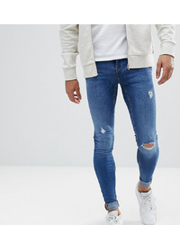 BLEND Tall Flurry Mid Wash Extreme Skinny Jeans