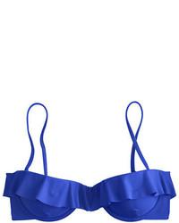 J.Crew Ruffle Underwire Bikini Top