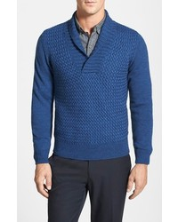 Shawl collar sweater medium 115211