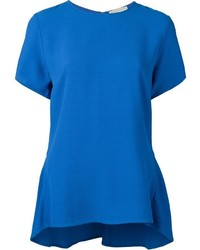 Blue short sleeve blouse original 1288599