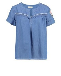 Filippa blouse medium blue denim medium 3938306