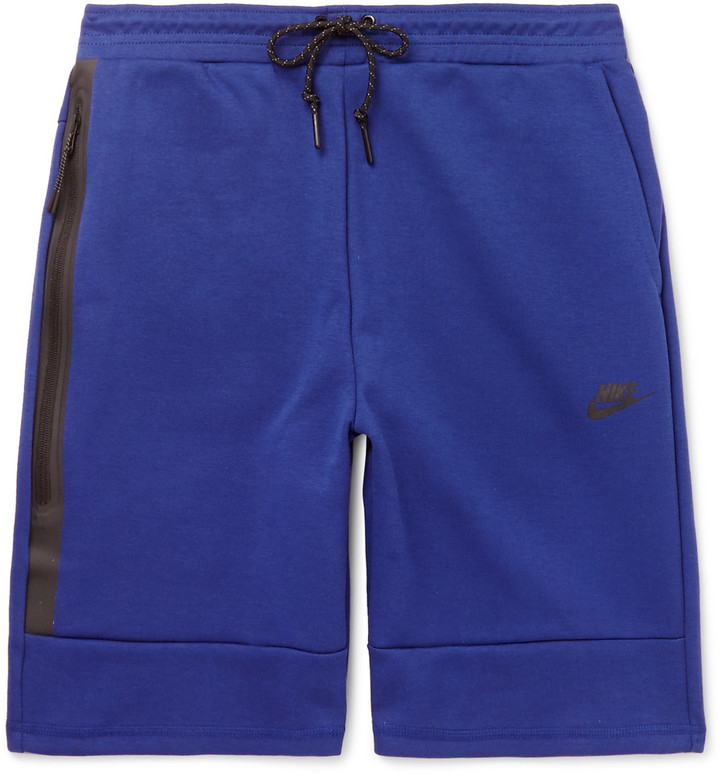 f3db0d4e58e £58, Nike Cotton Blend Tech Fleece Shorts