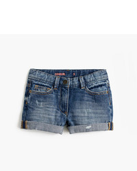 J.Crew Girls Cowgirl Roll Up Jean Short