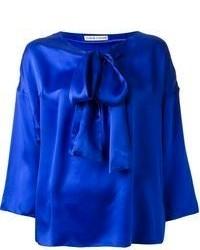 Silk satin blouse medium 58768