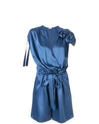 Lanvin Flower Appliqu Playsuit