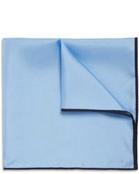 Drakes silk twill pocket square medium 96645