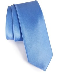 The Tie Bar Solid Silk Skinny Tie