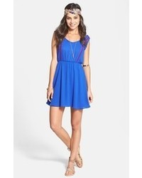 Blue skater dress original 1420791