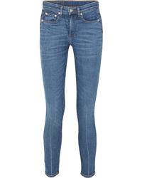 Brock Collection James Cropped High Rise Skinny Jeans