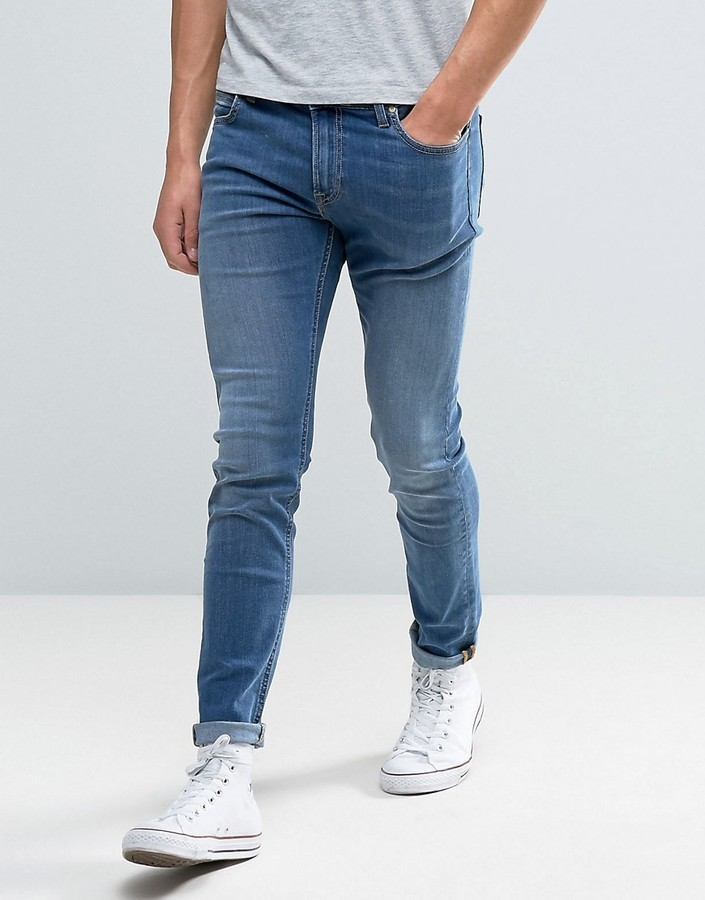 eb62af66 Lee Malone Super Skinny Jeans Common Blue, £100 | Asos | Lookastic UK