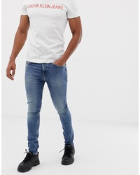 Calvin Klein Jeans Mid Wash Skinny Jeans