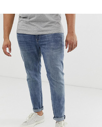 ASOS DESIGN Plus Skinny Jeans In Vintage Mid Wash