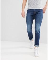 Esprit Skinny Jeans In Dark Blue Wash
