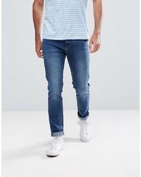 LDN DNM Skinny Jeans In Deep Indigo