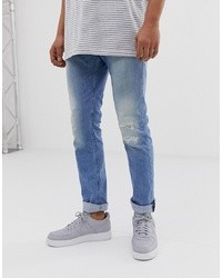 Replay Skinny Jeans In Light Wash