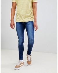 New Look Super Skinny Jeans In Indigo