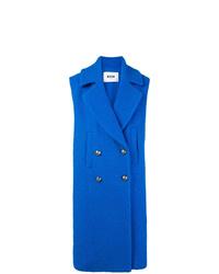 MSGM Double Breasted Sleeveless Coat