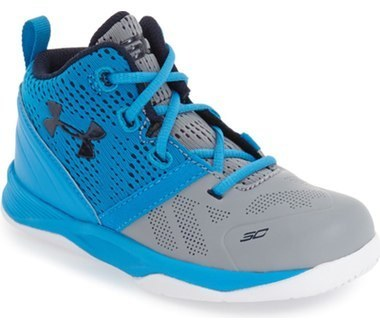 Under Armour Infant Boys Curry 2 High Top Sneaker