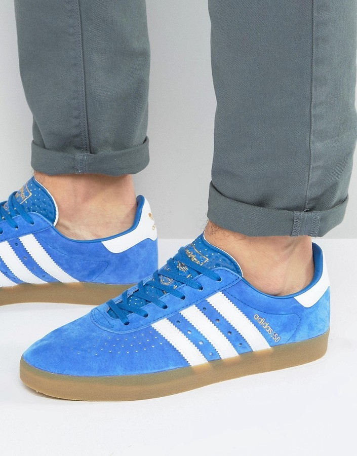 db82fa155 ... adidas Originals 350 Sneakers In Blue By1862 ...